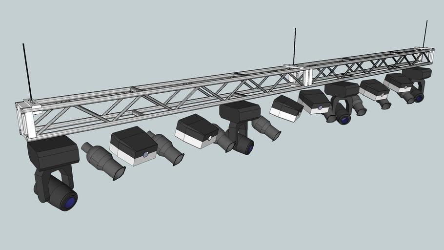 Main Stage Lighting Truss Warehouse