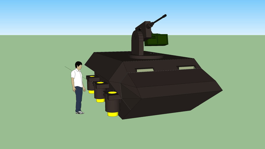 hovering armed personel carrier