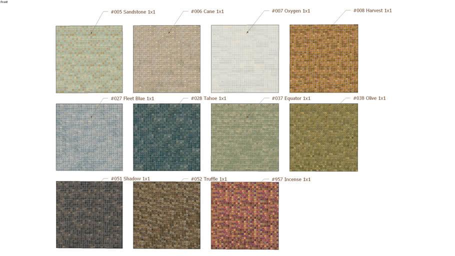 Tessera® Iridescent Color Palette