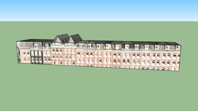 Gebäude in 1053 ZN Amsterdam, Niederlande
