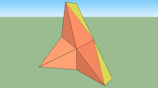 Improved Schatz Cube Kaleidocycle in SketchyPhysics