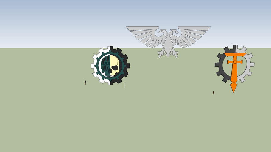 Imperial Symbols from Warhammer 4ok