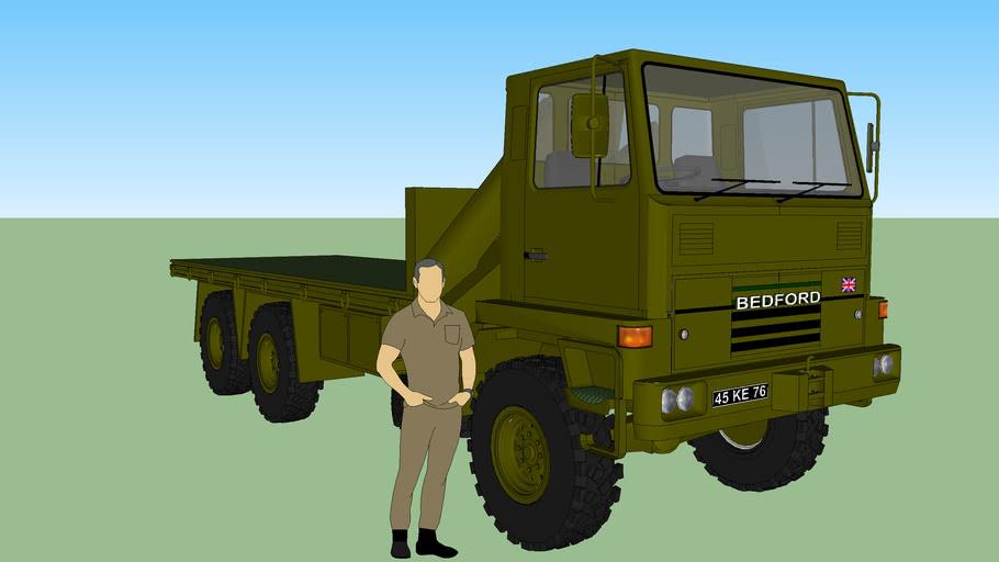BEDFORD TM ARMY TRUCK