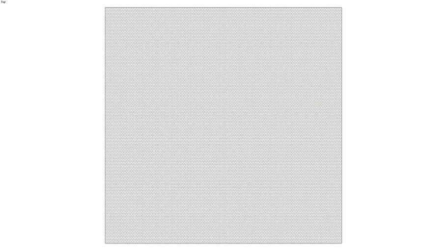 ROCKIT3D | Mesh Hexagon RAL7048