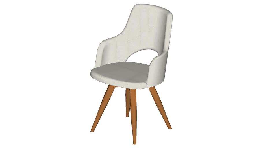 Cadeira Maya Com Braços