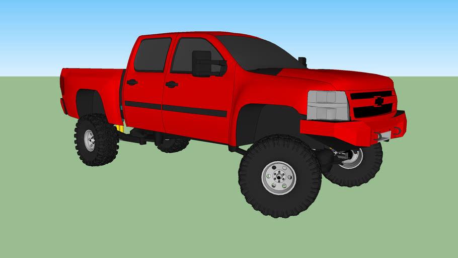 2011 Silverado 2500 HD lifted
