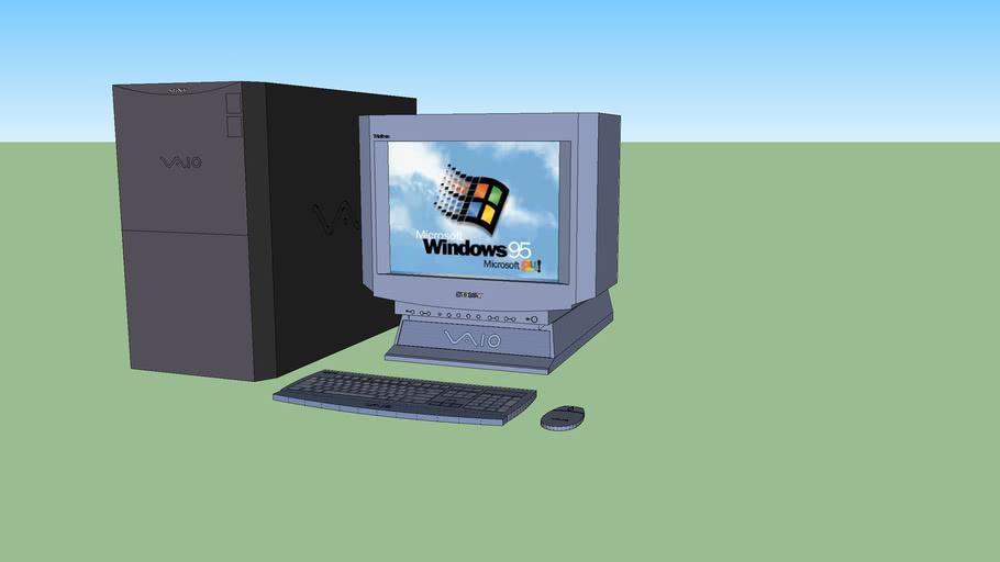 Sony Vaio desktop computer (PCV-90) (complete set)