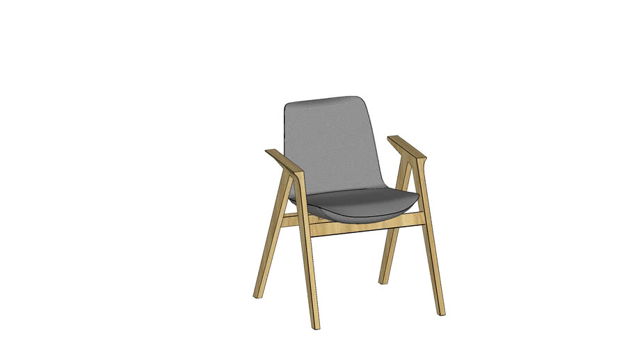 Conference chair by Bejot - LUMI LM WOOD 721P