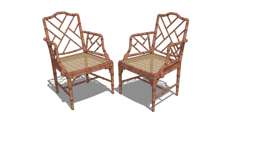 Chinese Chippenale armchairs