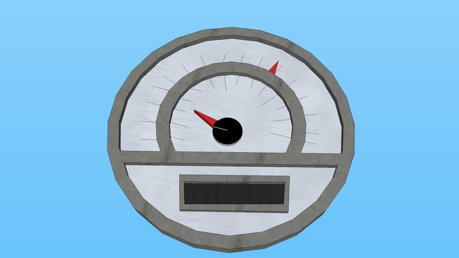 gokart speedometer/tachometer/hourmeter