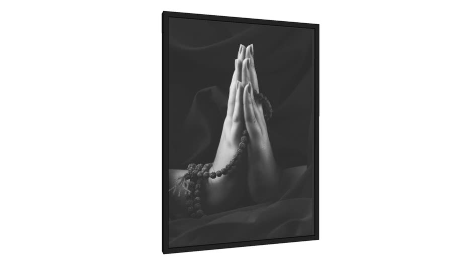 Quadro Mudra Gratidão - Galeria9, por Toigo