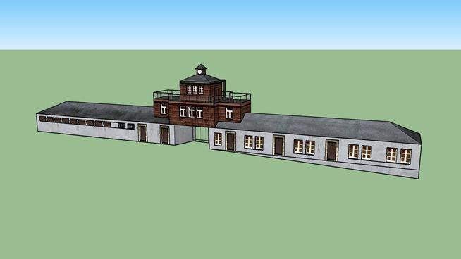 Buchenwald main gate