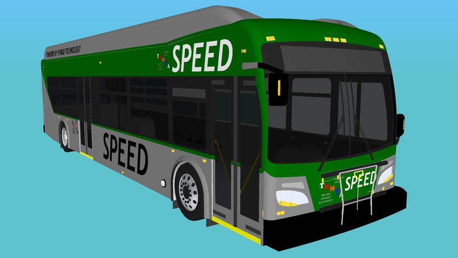 "Trimble Hills MTA New Flyer XDE40 ""Speed"" Bus"