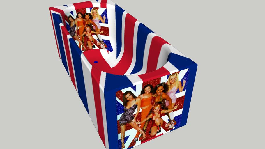 Spice Girls Bath - Vasca Spice Girls
