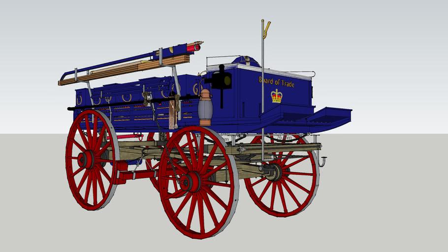 South Shields Volunteer Life Brigade L.S.A. Wagon