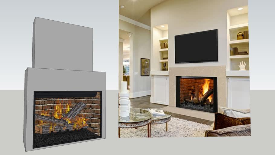 Heatilator 42 Legacy Trueview Firebox 3d Warehouse