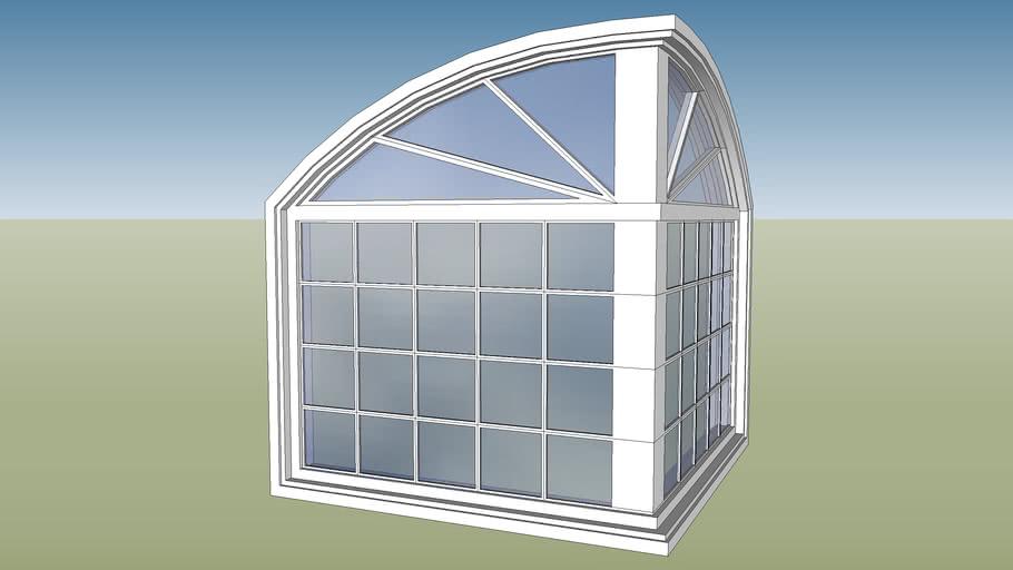 arch corner window