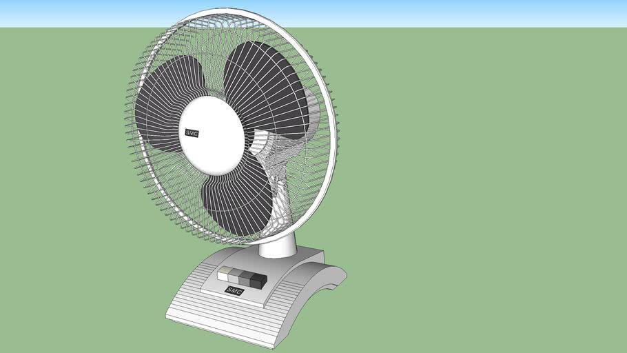 """SMC 16"""" Desk/Table Fan"""