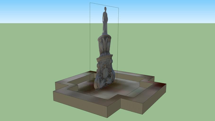 Estatua plaza Copiapó