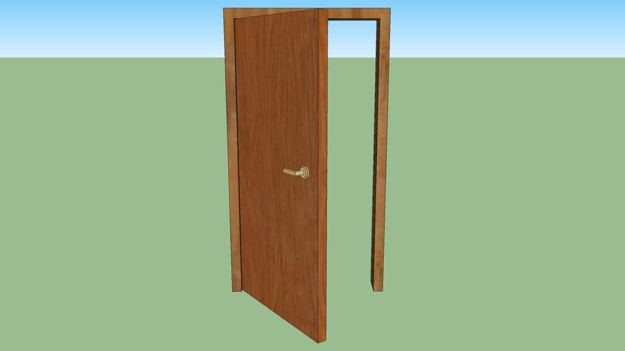 Wood Door 200x100cm