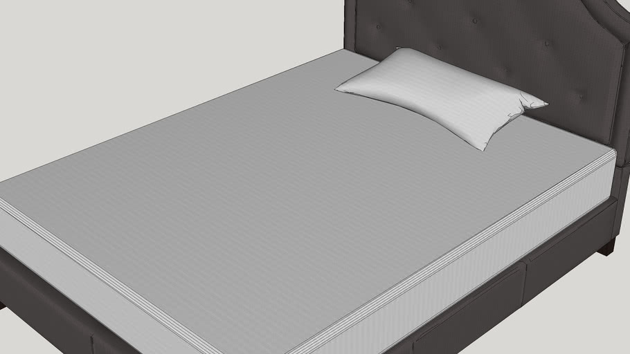 Carrollton Upholstered Panel Bed