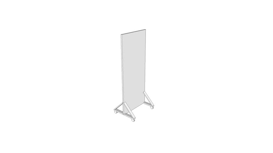 X3145 - Screen, X-Ray, Protective, Mobile