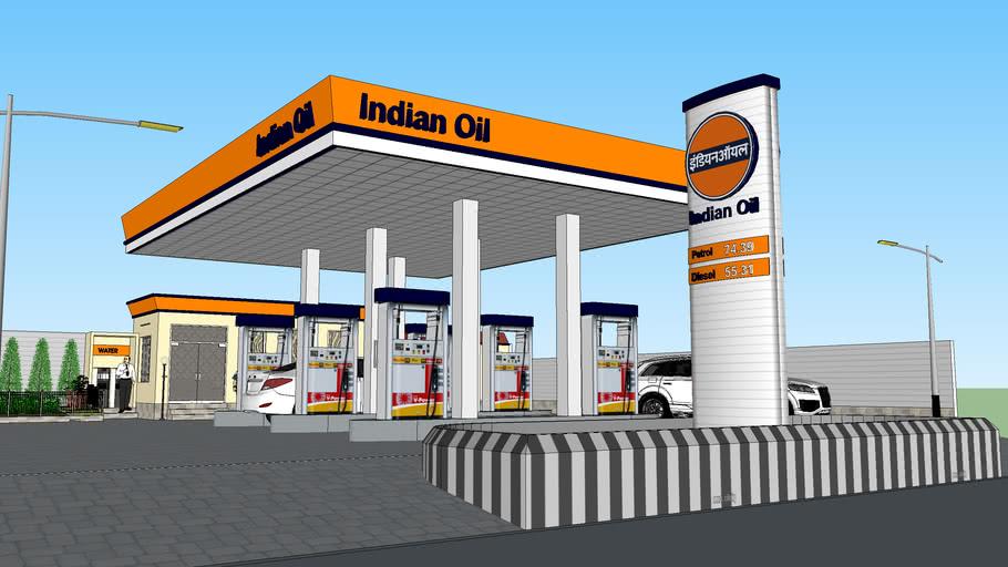 Indian Petrol Pump