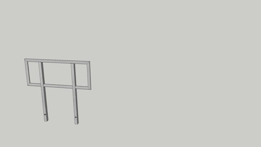 XStage S9 4ft handrail