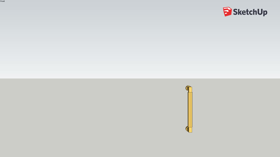 Copy of Water Street Brass  7792 Cabinet Pull - 6""