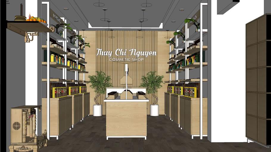 Interior 03 in VietNam -Cosmetic Shop