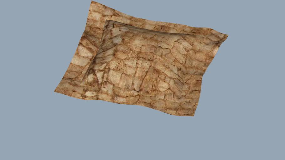 Wild Silk Fabric Pillow