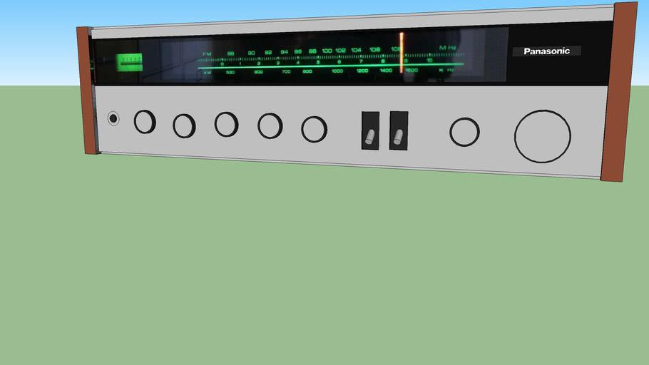 Panasonic stereo receiver (SA-207)