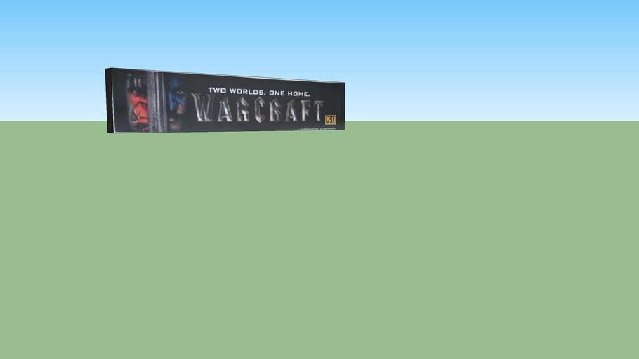 Warcraft - Original Movie 5x25 Mylar Poster with Lightbox