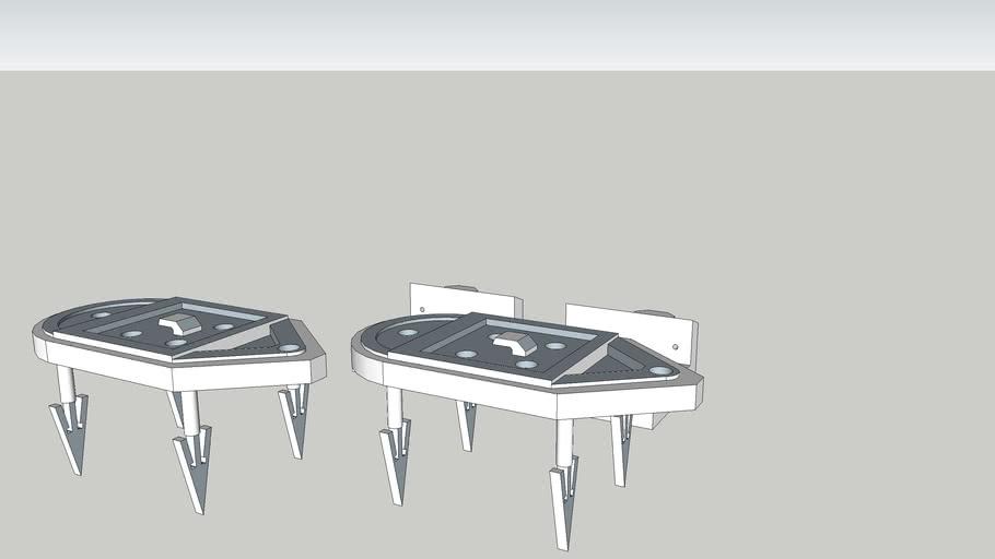 Dmd Desk 3d parts