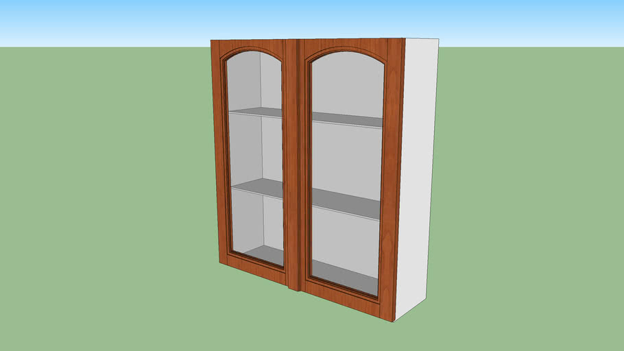 Wall Mounted Kitchen Cabinet 3d Warehouse