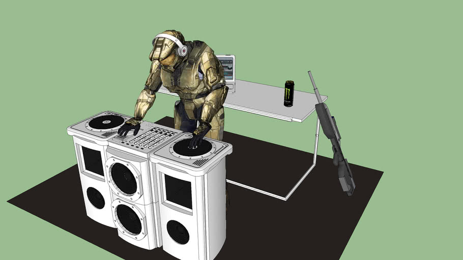 DJ Chief (simplified)