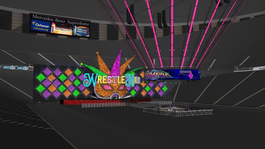 WrestleMania 34 Full Arena