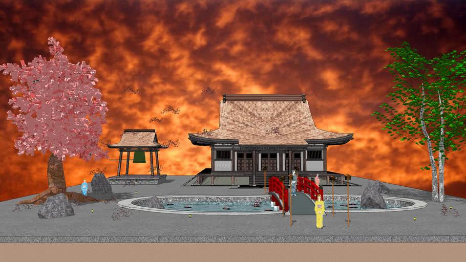 Paysage Japonais / Japanese landscape
