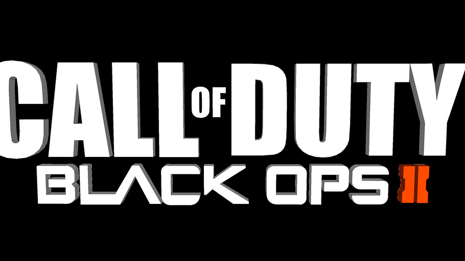 Cod Black Ops 2 Logo 3d Warehouse