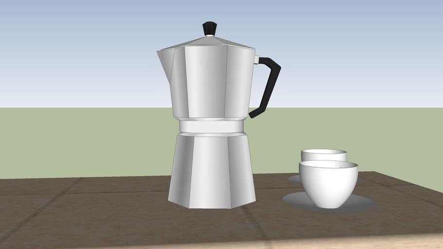 moka + tazzine caffè