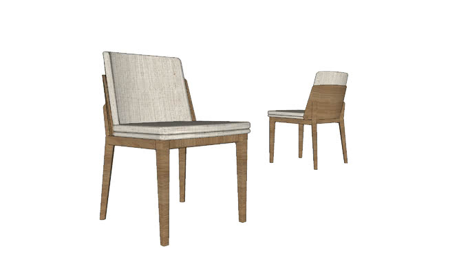 Cadeira Ohara sem braços