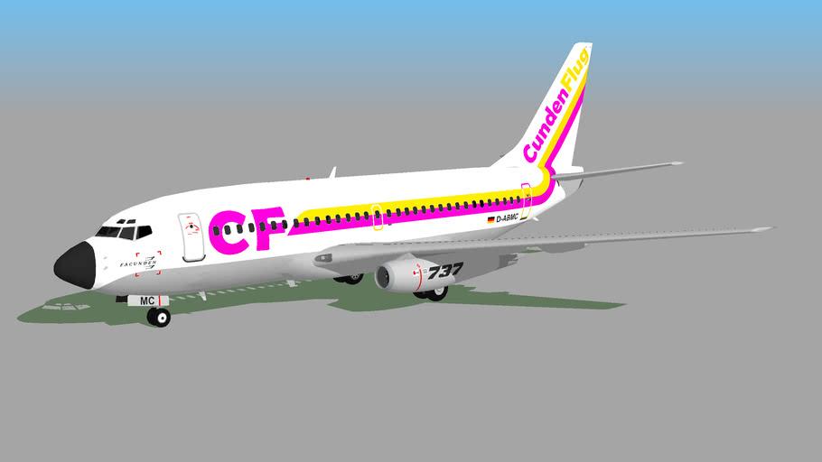 CundenFlug (D-ABMC) - Boeing 737-230(Adv) (Fictional)