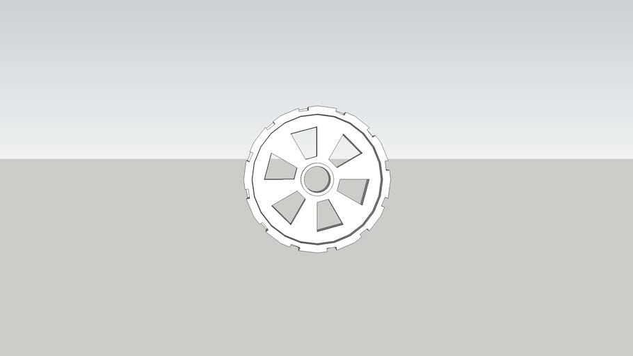 Wheel for cansat