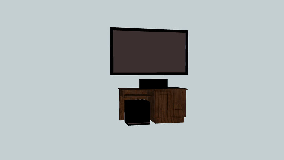 Entertainment Center with/Subwoofer prototype I