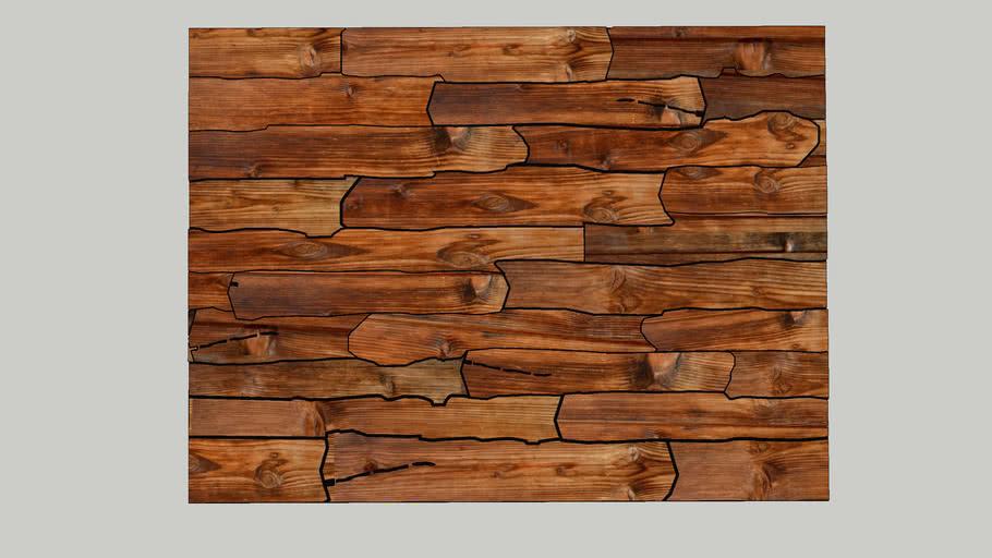 wood plank plane floor