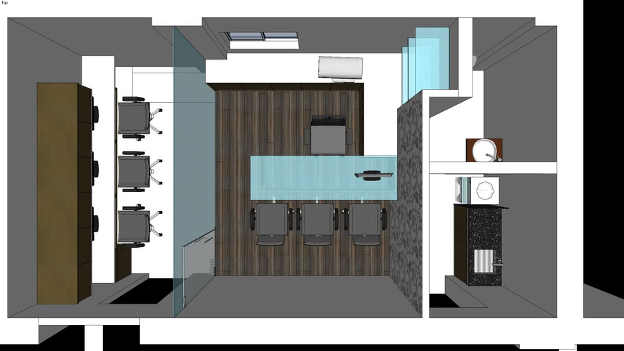 Small Office Cabin 3d Warehouse