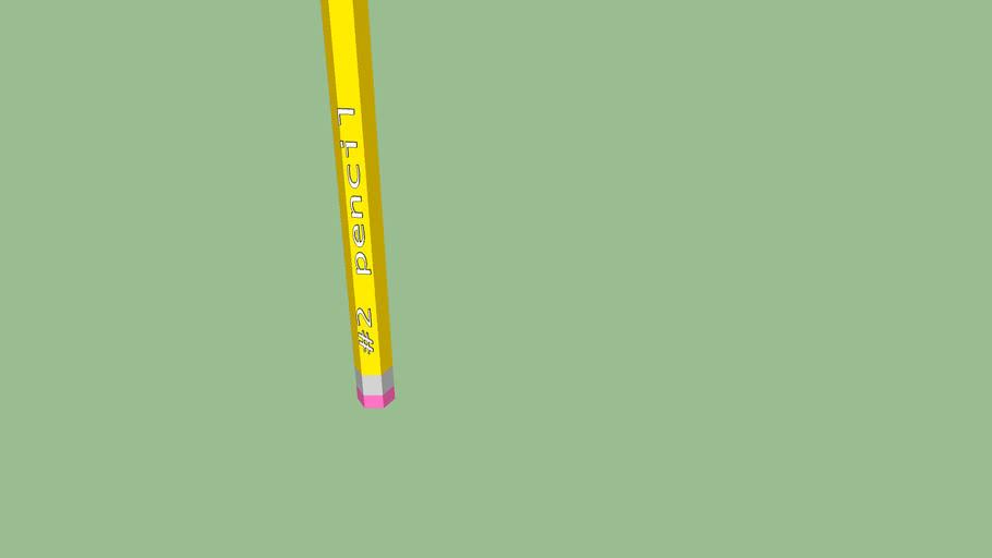 #2 pencil