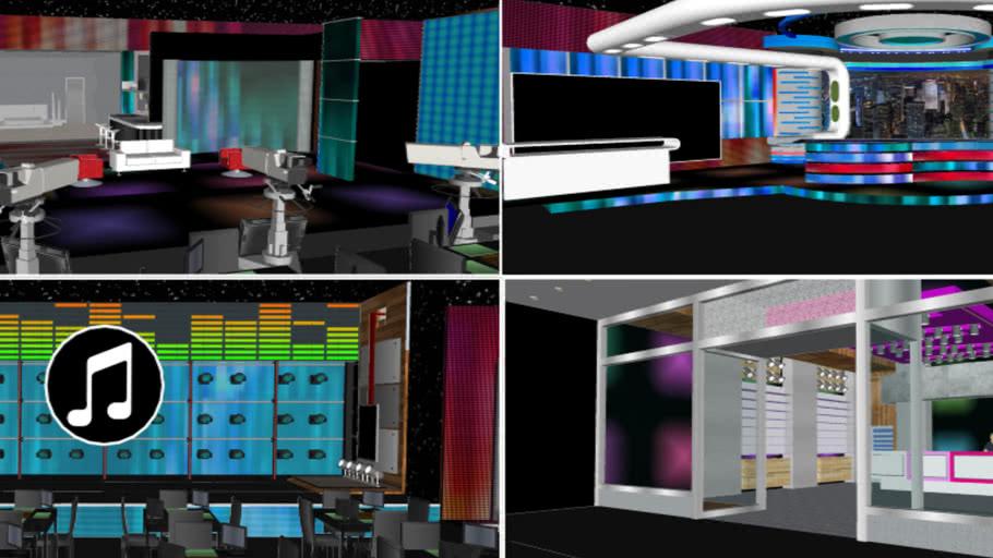 Late Night Show Concept Studio