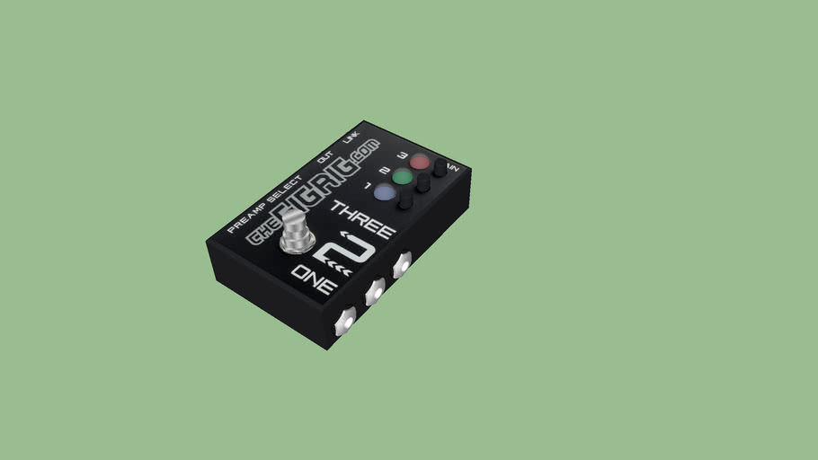 Gigrig Three2One guitar switcher