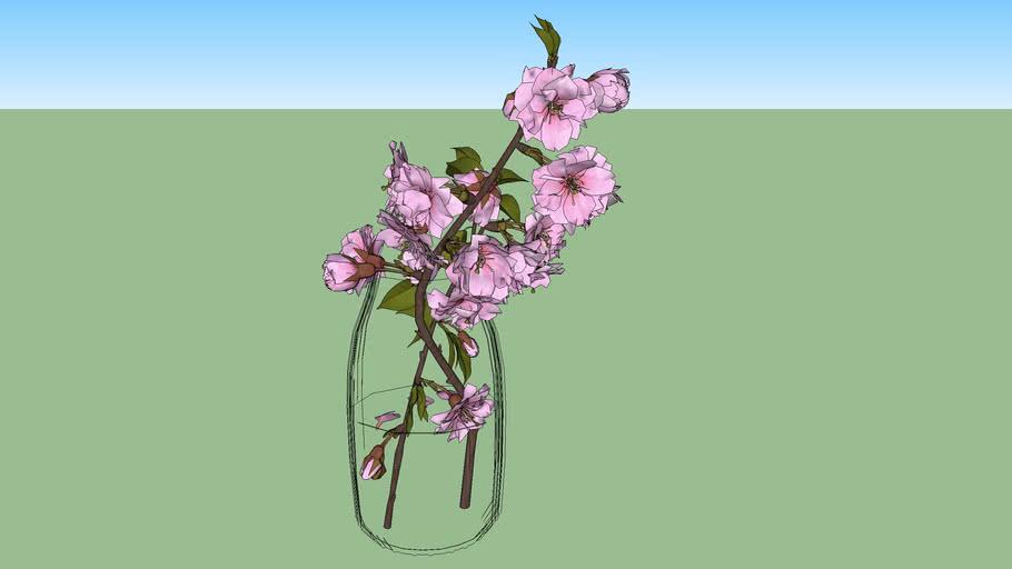 3D floral decor